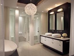 bathroom chandeliers big and beautiful an orb shaped light could be the perfect choice