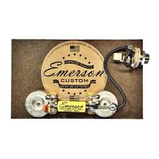 emerson custom les paul junior prewired kit lp jr axe and 1 switchcraft 1 4 mono input jack prewired 1 0 022uf emerson paper in oil capacitor 1 volume mod wiring diagram