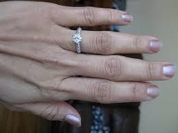 Engagement Ring Carat Size Chart Help Engagement Ring Carat Sizes