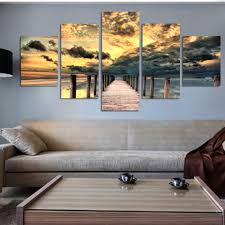 ocean sunset wall art