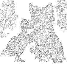 Malvorlage Von Kaninchen Hase Und Winter Schneeflocken Handskizze