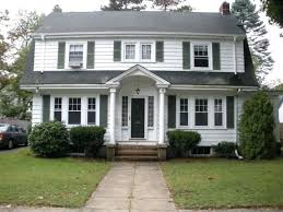 historical dutch colonial house plans ready for renewing project extravagant traditional white classic new england