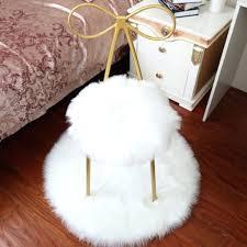 white faux fur rug top luxury white black artificial wool parlor carpet living room faux white faux fur rug