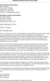 Rn Cover Letter For Resume Together With How To Write The Best