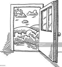 open front door drawing. Perfect Front Open Front Door Clipart Clipart Doorway U0026 Info For Drawing 6
