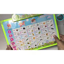 Mua Bảng học điện tử dạy bé tập nói tiếng Anh cho bé mới sinh có tiếng đọc  cực rẻ chỉ 105.000₫