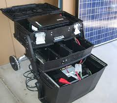 best portable solar generator on the market choosing diy portable solar power generator