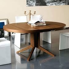 modern round extendable dining table trend modern round extendable dining table on table and chair inspiration