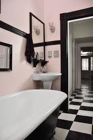 black and pink bathroom accessories. Gorgeous Light Pink And Black Retro Bathroom Accessories G