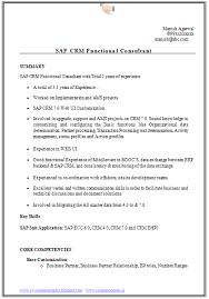 ... Best Ideas of Sap Crm Resume Samples In Download ...