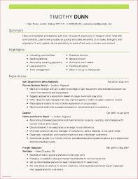 Cover Letter Restaurant Example Free Sample Resume For Restaurant Supervisor New Restaurant Resume