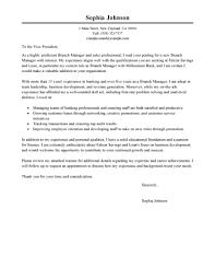 Finance Manager Cover Letter Example Covering Letter For Finance