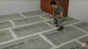 Installing Ceramic and Porcelain Floor Tile - Step 1: Plan the Layout -  YouTube