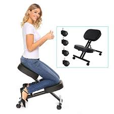ergonomic kneeling office chairs. Beautiful Chairs Modrine Ergonomic Kneeling Chair Perfect Adjustable Posture Stool For Home  And Office With Thick Comfortable Throughout Chairs H