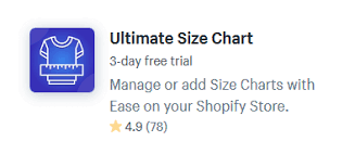 Create Size Chart Shopify 6 Of The Best Size Chart Shopify Apps Buildify