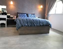 concrete screed flooring for indoor spaces