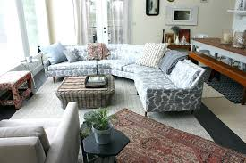 how to place area rug in front of sectional unique sectional sofa area rug placement