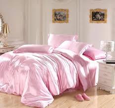 pink duvet sets light pink bedding sets silk sheets satin king size queen double quilt duvet pink duvet sets