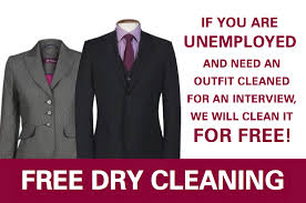 dry cleaning interview offer
