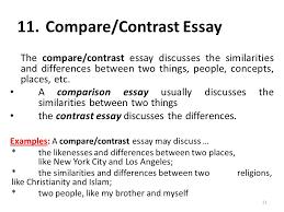example comparison and contrast essays fresh essays essay structure powerpoint beginnen