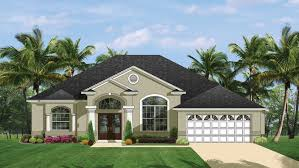 Small Picture Mediterranean Modern Home Plans Florida Style Designs from