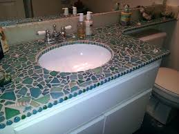 tiled bathroom countertops sea ceramic tile bathroom countertop pictures tile bathroom countertop diy