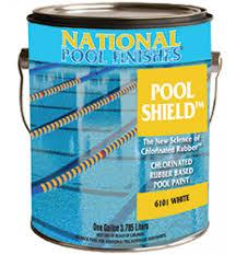 pool paint colorsShield Chlorinated Rubber Pool Paint