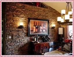 Small Picture rustic wall decor ideas 2016 interior stone wall decoration New