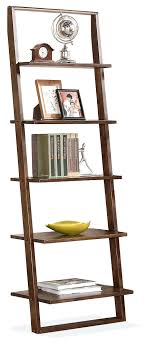 Ikea Leaning Bookcase Uk Ladder Shelf Black Crate And Barrel Sloane Java. Leaning  Ladder Bookcase Walmart Australia ...