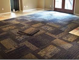 image of sisal interlocking carpet tiles