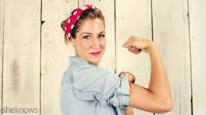 a rosie the riveter costume diy that ll make you feel like a total badass sheknows