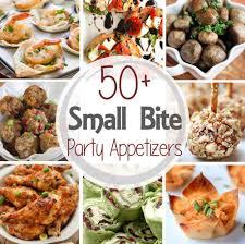 50 Small Bite Party Appetizers Julies Eats Treats