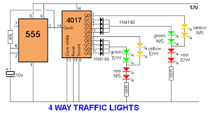 wiring diagram for traffic light the wiring diagram 4 way traffic light circuit diagram nodasystech wiring diagram