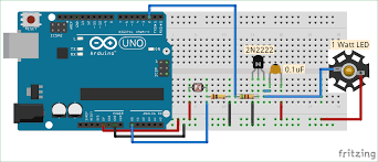 Light Intensity Arduino Auto Intensity Control Of Power Led Using Arduino