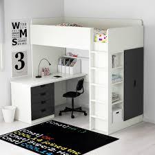 best ikea loft bed with desk