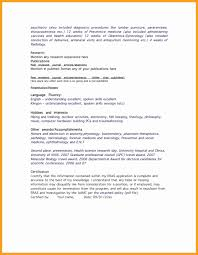 Chef Resume Examples Luxury Resume Format For Ca Articleship Best