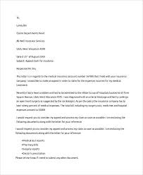 Sample Appeal Letter To Insurance Company From Patient Template For