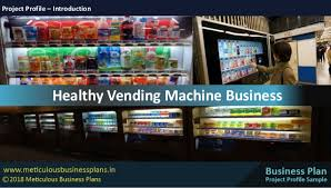 Vending Machine Business Plan Adorable Healthy Vending Machine Business