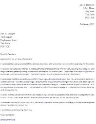 cover letter for librarians library assistant cover letter example icover org uk