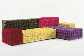 image of modular sofa colorful
