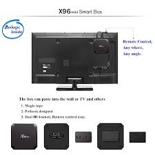 X96 Mini 4k Quad Core Android Tv Box 2g 16g For Youtube Netflix Iptv Media  Player Box Turn Your Tv To Smart Tv Set Top Box - Buy X96 Mini,4k Quad Core