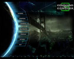 Game Menu Ui Design 220395 Command Conquer 3 Tiberium Wars Windows Screenshot