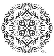 Small Picture Mandala coloring pages Mandala coloring and Flower henna on Pinterest