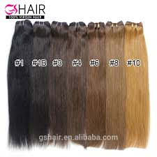 Hair Length Chart Weave Top Quality Hair Factory Unprocessed Full Cuticle No Shed No Tangle Hair Weave Color 4 Buy Hair Weave Color 4 Organic Hair Color Hair Color Chart