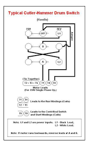 drum switch wiring schematic 220 volt reversable the home machinist image