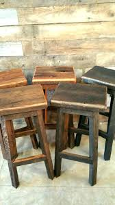 wooden bar stool designs magnificent best rustic stools ideas on kitchen throughout reclaimed wood plans free