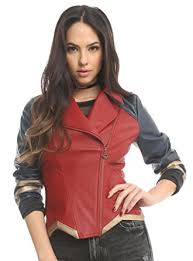 leather jackets plus size her universe dc comics wonder woman armor faux leather jacket at