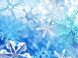 Winter Powerpoint Abstract Winter Snowflakes Backgrounds For Powerpoint