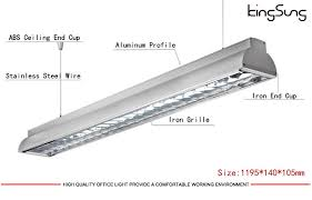 office light fittings. Modern Office Lighting Fixtures Led Light Fitting T8 T5 Grille Fixture Fittings