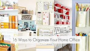 organized office ideas. Fine Office Ideas Organizing Your Home Office And Organized